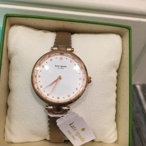 kate spade Accessories - Kate Spade Rose Gold Watch